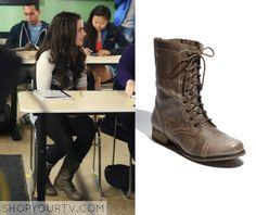 Switched at Birth: Season 4 Episode 12 Bay's Lace Up Boots