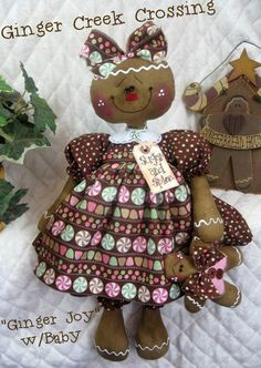 gingerbread doll - Google Search