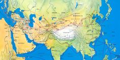 These roads connected China, Mongolia, Persia, India, and stretched all the way across the mountains, deserts, and steppes of Central Asia to the...