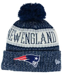 New Era Boys  New England Patriots Sport Knit Hat - Blue Adjustable Knit Hat  For 4ba02caf00b9