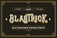 39 Best 3D Fonts images in 2019 | Fonts, Vintage fonts