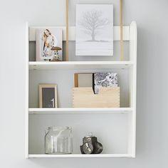 Etagère murale en bois 3 niveaux Flexa Play - Blanc