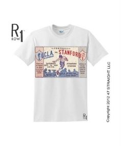 Stanford football tickets turned into ROW 1™ Tees. The best football tickets  are at http://www.shop.47straightposters.com/39-UCLA-VS-STANFORD-Football-Ticket-Shirt-39UCLASTAN.htm