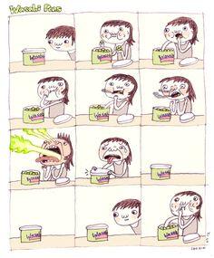 Do you like wasabi peas? I think I like wasabi peas.