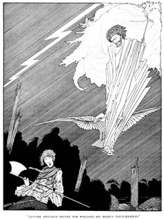 Art by Harry Clarke (1922) from FAIRY TALES OF CHARLES PERRAULT.
