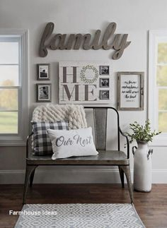 ✔ cozy farmhouse living room decor and design ideas 24 > Fieltro.Net ✔ cozy farmhouse living room decor and design ideas 24 > Fieltro.Net The decoration of the house is actually an exhi. Home Decor Inspiration, Kirkland Home Decor, Decor, Home, Cheap Home Decor, Living Decor, Farm House Living Room, Country House Decor, Living Room Designs