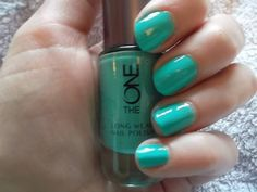 THE ONE Mint Zest Nail polish