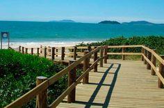Caminho da praia em Jurerê Internacional!