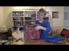 Annie Unrein (byannie.com) will show how to install a top zippers that opens to fall flat against bag.