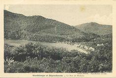 Bourg de Deshaies Country Roads, Album, Island, Blog, Outdoor, Photos, Vintage, West Indies, Antique Post Cards