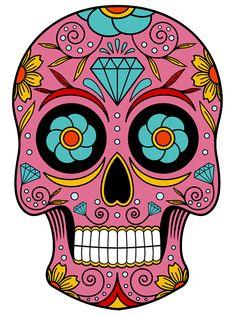 Caveira Mexicana em png | Quero Imagem