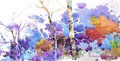 Blue Landscape by Natalie Graham