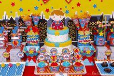 Superkid Birthday Party