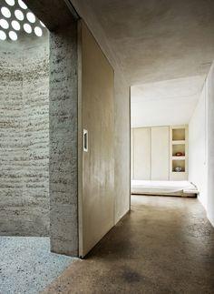 Lehmwände Wände und Boden aus Lehm Roger Boltshauser