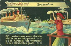 Groeten uit Roosendaal, 1900.