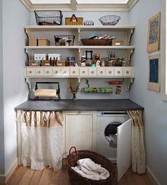 Small Laundry Room Design Ideas-35-1 Kindesign