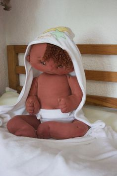 One of a kind soft sculpted baby doll Michelle by LaChulonaDolls
