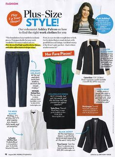 Plus Size Style Tips. August2012-