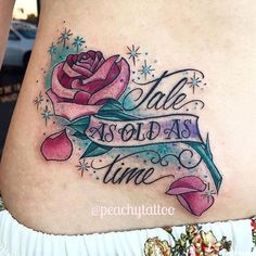 Beauty and the Beast Tattoos 44