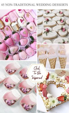 45 Creative Non-Traditional Wedding Dessert Ideas ❤ Need a creative solution for your wedding dessert, look through our new listing of non-traditional wedding dessert ideas below. Pick the best! #weddings #cakes #weddingdessert #nontraditionalweddingdessert #weddingdessert