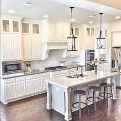 Beautiful Homes Of Instagram Kitchen Island Sizekitchen