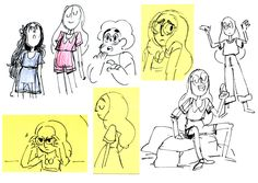 Steven Crewniverse Behind-The-Scenes Universe: Storyboard Supervisor Kat Morris says: Some...