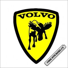 Samolepka VOLVO Cool Stickers, Ferrari Logo, Volvo, Logos, Ferrari Sign, Logo