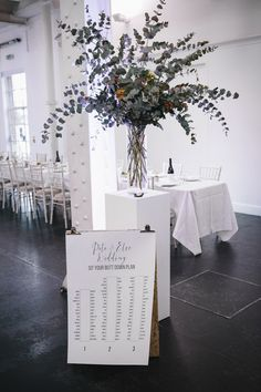 Seating Plan Table Chart Graphic Stylish Clean Modern City Wedding https://mybeautifulbride.co.uk/