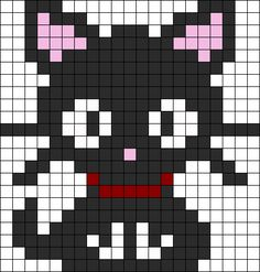 Drawn pixel art easy - pin to your gallery. Explore what was found for the drawn pixel art easy Kandi Patterns, Hama Beads Patterns, Beading Patterns, Loom Beading, Pixel Art Chat, Easy Pixel Art, Perler Bead Designs, Perler Bead Art, Perler Beads