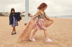 c5b9fa4e52fa UGG⎟ FLUFF · Whimsically dressed children on the beach in the fluff yeah  slide. Sheepskin Insoles