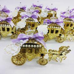 Carruagem Princesinha Sofia lembrancinha by…