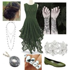 forest lady by polyvorefashionfanatic on Polyvore featuring beauty, Nature Girl, M&Co, Lucky Brand and Aetrex