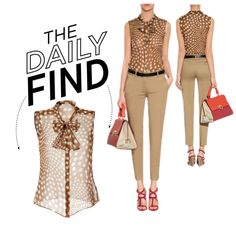 """The Daily Find: Steffen Schraut Blouse"" by polyvore-editorial ❤ liked on Polyvore"