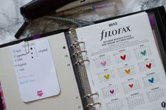 The Bullet Journal – A System That Works   So This Is What...to read - bullet journal set up in a Filofax