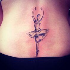 Ballerina tattoo | Ballerina | Pinterest
