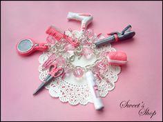 "Cute hairdresser pendants/bracelet! - polymerclayfimo: Флешмоб ""О себе"" - Алексеенко Ольга или magnetic_storm"