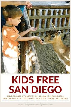 Looking to save money on family-friendly things to do in San Diego? Kids Free San Diego returns in October with big savings at more than 100 San Diego hotels, restaurants, attractions, museums, and more! Here is everything you need to know about Kids Free San Diego 2021! #sandiego San Diego Attractions, California Attractions, San Diego Hotels, Legoland California, California Surf, Old Town San Diego, San Diego Zoo, Travel With Kids, Family Travel