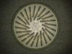 Floor vent at MMU.