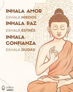 Vie Positive, Positive Phrases, Positive Mind, Positive Affirmations, Positive Vibes, Positive Quotes, Yoga Mantras, Yoga Quotes, Citation Cute
