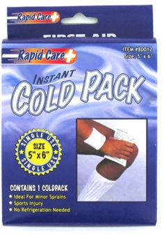 Instant Cold Pack Case Pack 24
