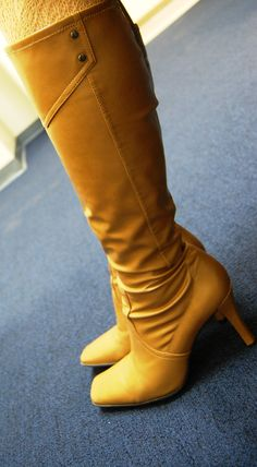 My camel boots
