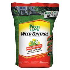 Preen 5 lb. Lawn Weed Control Spreader Refill Bag