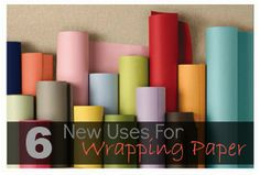 It can do more than wrap presents! Check out these six new uses!
