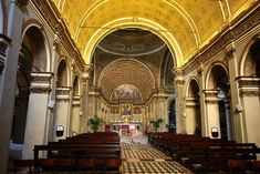 Presbiterio de la Iglesia de Santa María Presso San Satiro (1482-1486), Milán. Donaro Bramante.