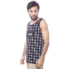 Camiseta Ilegal Negra - Camisetas - Hombre www.ebolet.com  #ebolet #camiseta #urbana #street #chico