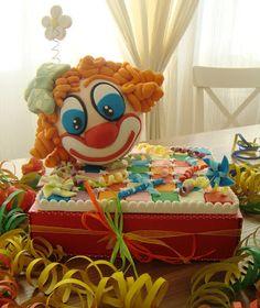 Dove cadono le stelle (Ex zucchero imburrato): Torta Clown