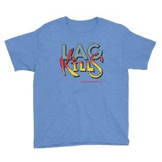 Lag Kills Gaming Kid's Short Sleeve T-Shirt - Blue - Gotta Have it All! - - A lightweight Gotta Have It All lag kills Gaming Kid's short sleeve t-shirt, made of cotton. Comes pre-shrunk so the fit stays. Navy Blue Crop Top, Superhero Classroom, Kids Shorts, Online Shopping Clothes, Kids Outfits, Long Sleeve Shirts, Perfect Fit, Mens Tops, Cotton