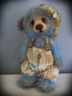 Blue dream bear by Lovely friends by Audrone Eidukiene