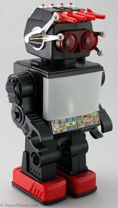 1980s Vintage Toy Jupiter Robot ~ childhood toy of mine :)