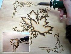 Wood burning .... like I need another craft I won't finish.